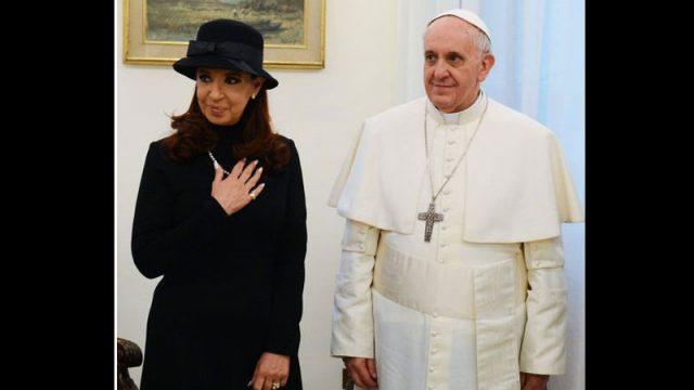 cristina papa 800