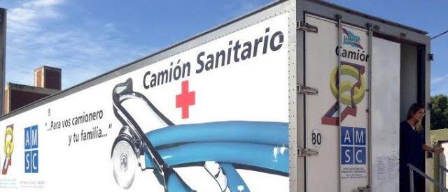 camion sanitario camioneros